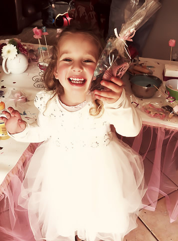 Princess Chocolate Party - Workshops can be tailored to fit themes